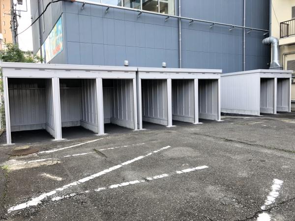 スペースプラスバイクコンテナ溝の口駅前